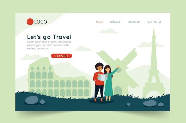 Andiamo alla pagina di destinazione del viaggio