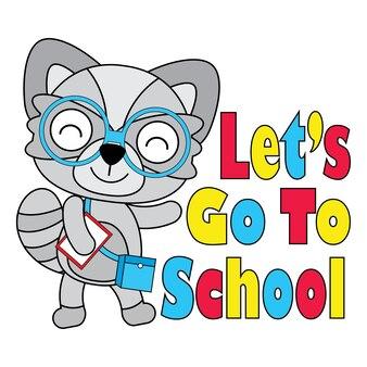 Andiamo allo sfondo della scuola