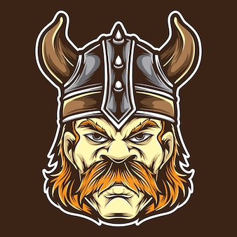 Anger viking vector