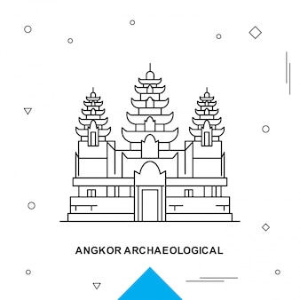 Angkor archeologico