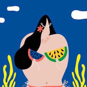 Angurie come bikini