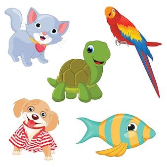 Animali dei cartoni animati