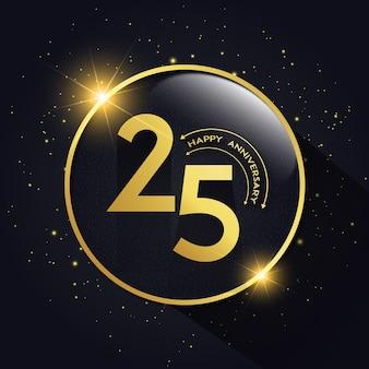 Anniversario di matrimonio con 25 anni di lusso