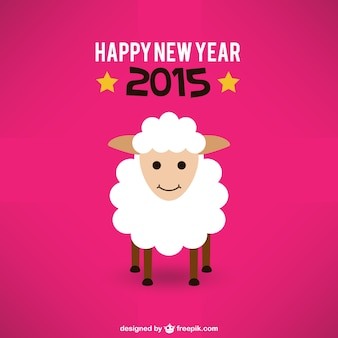 Anno nuova scheda con le pecore