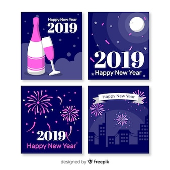 Anno nuovo saluto 2019