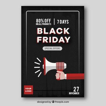 Annuncio delle vendite di venerdì nero