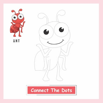 Ant connect the dots