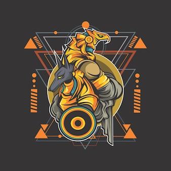 Anubis e horus