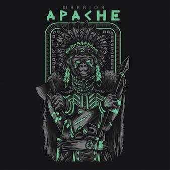 Apache warrior