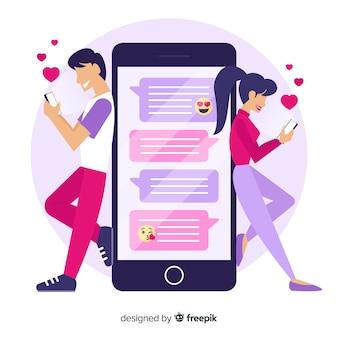 App di incontri con chat