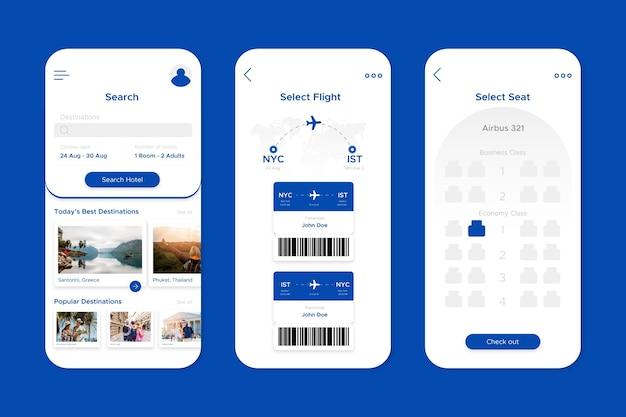 App di prenotazione viaggi