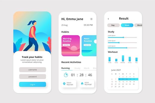 App di tracciamento di obiettivi e abitudini