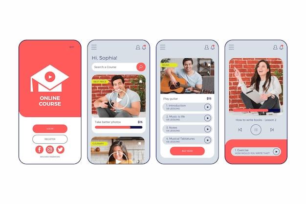 App mobile per corsi online