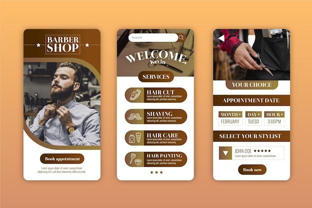 App per la prenotazione di un barbiere
