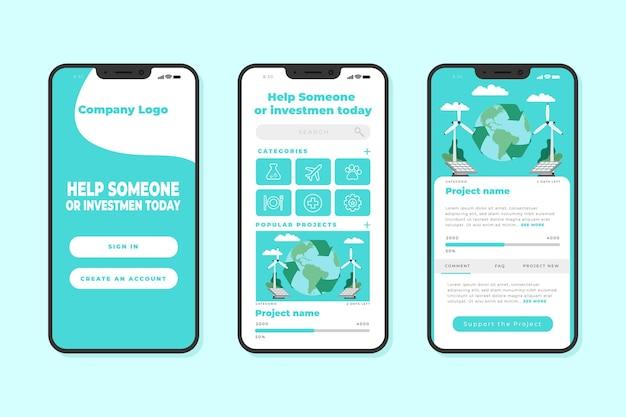 Applicazione di crowdfunding