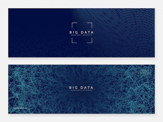 Apprendimento dei big data. estratto di tecnologia digitale
