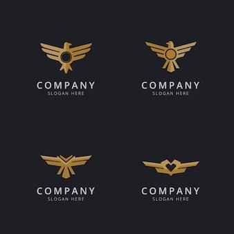 Aquila logo template design