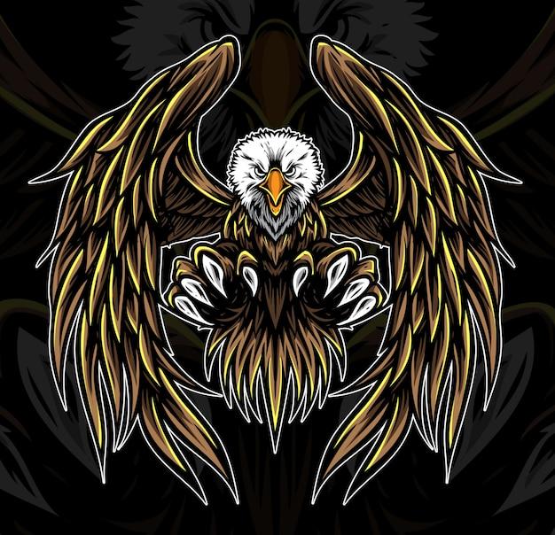 Aquila logo vettoriale