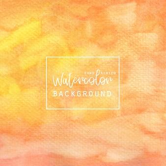 Arancione e acquerello sfondo giallo