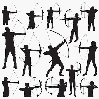 Archer silhouettes