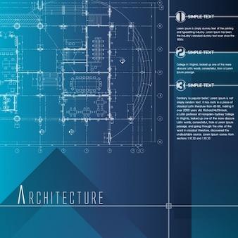 Architettura modello infografica