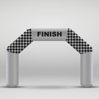 Arco di traguardo gonfiabile 3d