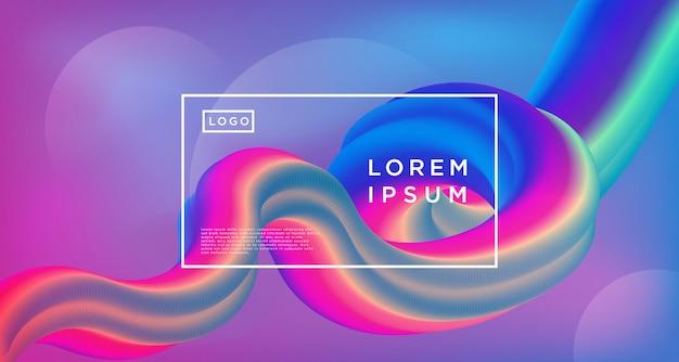 Arcobaleno gradiente loop sfondo astratto