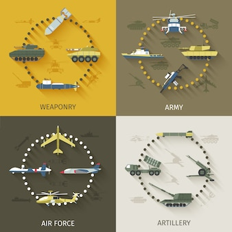 Army flat set