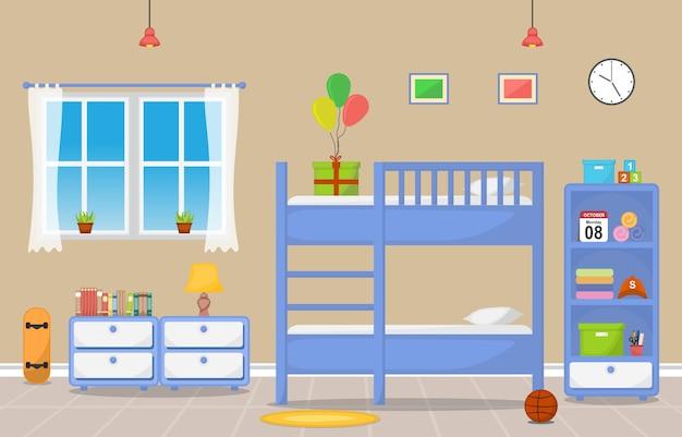 Arredamento camera da letto per bambini