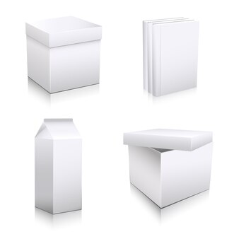 Art box mock up design