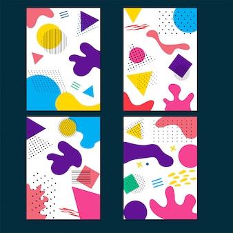 Arte fluida colorata