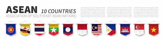 Asean. associazione delle nazioni del sud-est asiatico