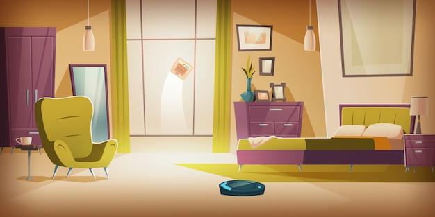 Aspirapolvere wireless automatico e lavavetri