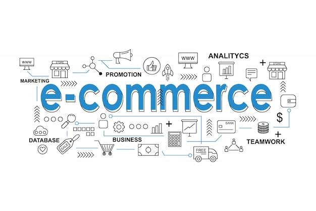 Asset e-commerce per la presentazione o la copertura dei social media