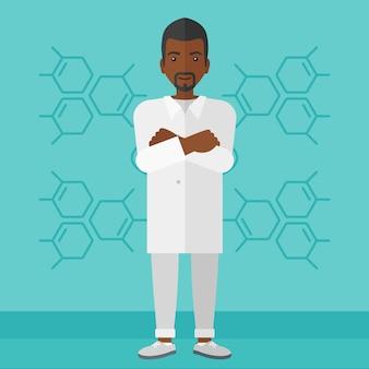 Assistente di laboratorio maschile