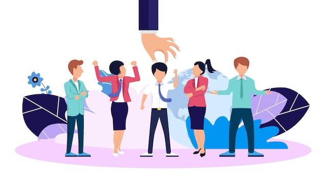 Assunzione e assunzione di nuovi dipendenti