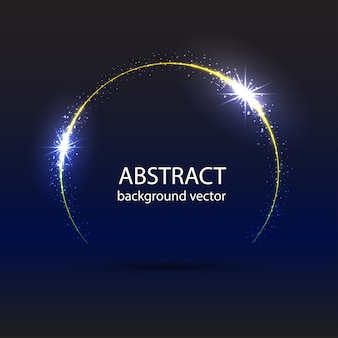 Astratto blu movimento effetto di luce di fondo.