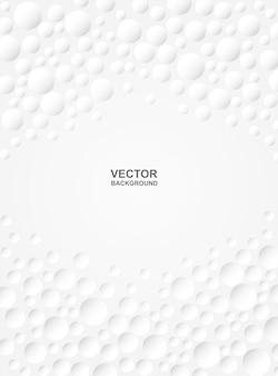 Astratto. cerchio in rilievo sfondo bianco. luce e ombra. copyspace