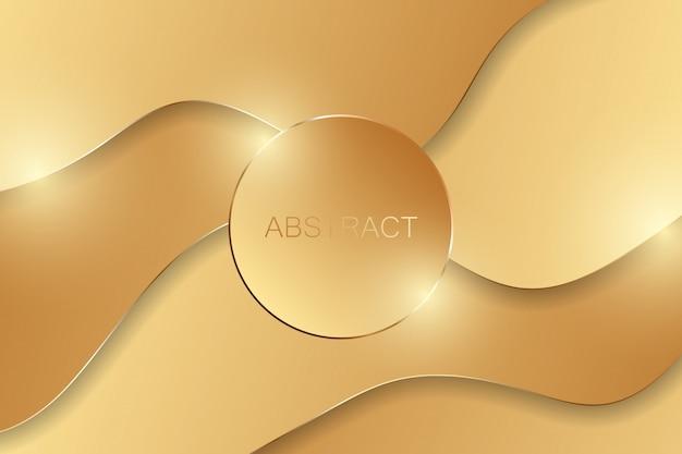 Astratto di lusso in oro.