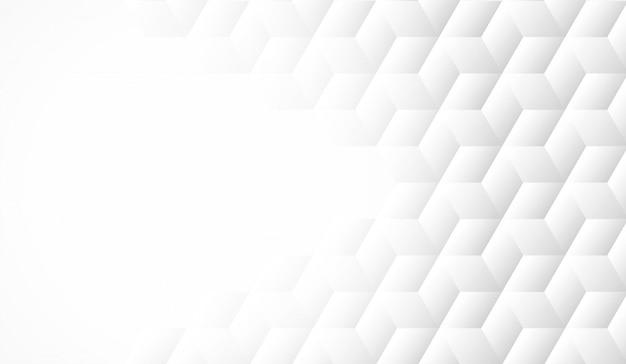 Astratto. forma geometrica sfondo bianco