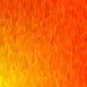 Astratto geometrico caotico triangolo sfondo - illustrazione vettoriale mosaico da triangoli colorati