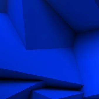 Astratto geometrico con cubi sovrapposti