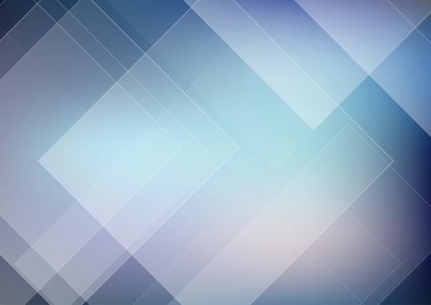 Astratto geometrico con design poli basso