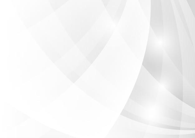 Astratto geometrico grigio e bianco.