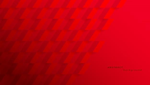 Astratto geometrico rosso.