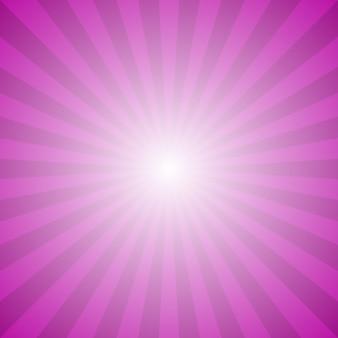 Astratto gradiente raggio scoppiare sfondo - grafica vettoriale ipnotica dai raggi radiali