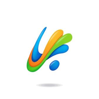 Astratto lettera a logo