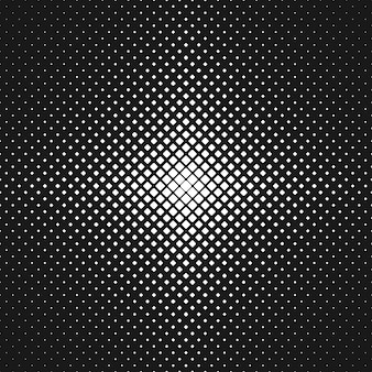 Astratto, monocromatico, arrotondato, quadrato, modello, fondo, illustrazione, vettore, da, diagonale, quadrati, in, vario, dimensioni