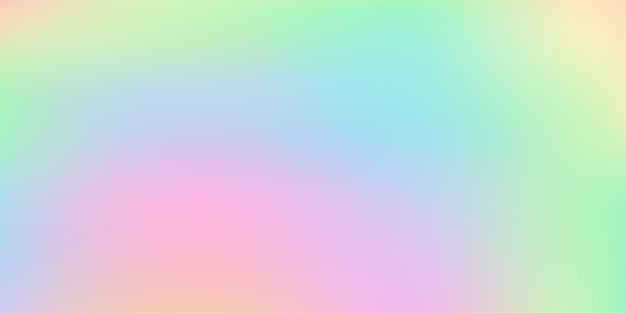 Astratto sfocato pastello colorato gradiente morbido sfondo vettoriale