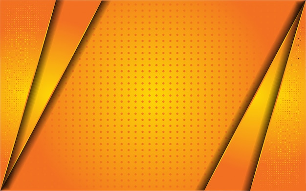 Astratto sfondo arancione con glitter
